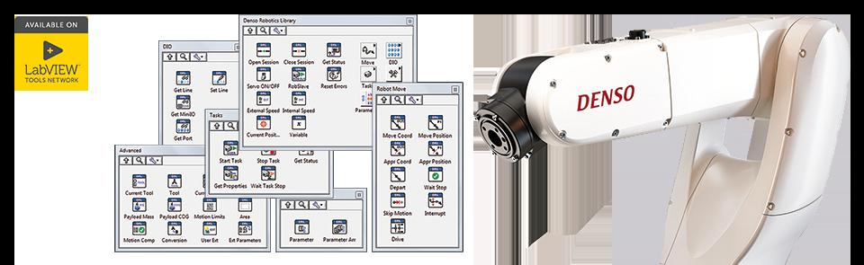 Denso Robotics Library