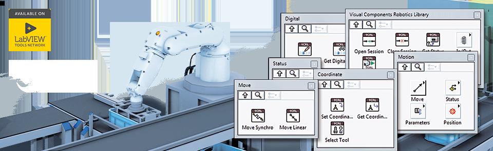 Visual Components Robotics Library