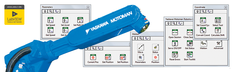Yaskawa Motoman Robotics Library – DigiMetrix