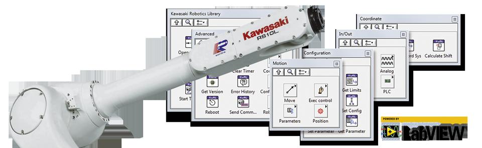 Kawasaki Robotics Library
