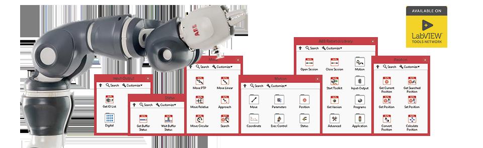 Библиотека DigiMetrix Robotics для ABB