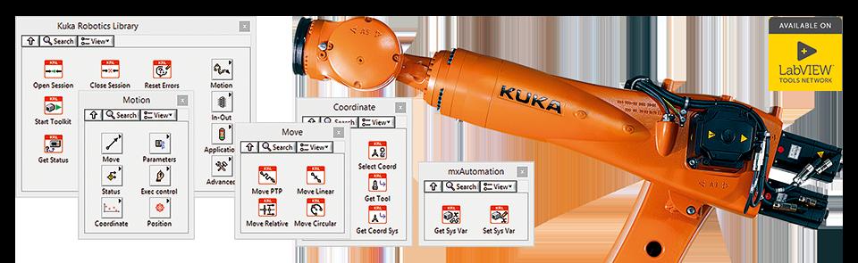 Библиотека DigiMetrix Robotics для KUKA