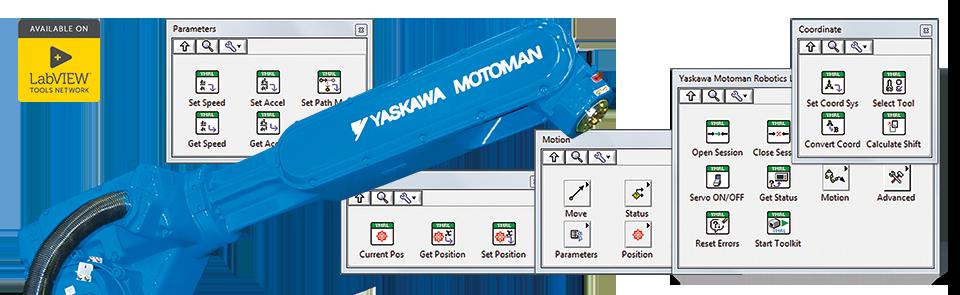 Библиотека DigiMax Robotics для YASKAWA MOTOMAN